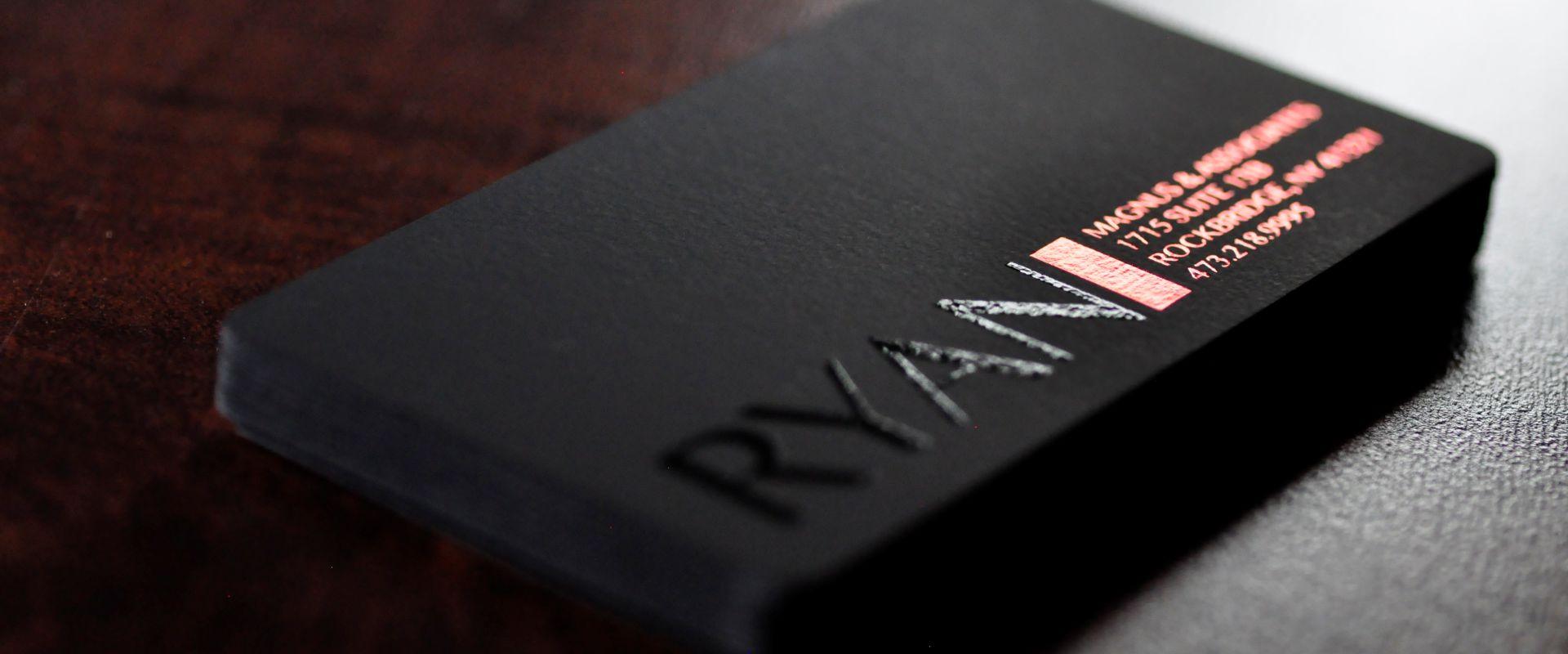 black velvet cards  22pt