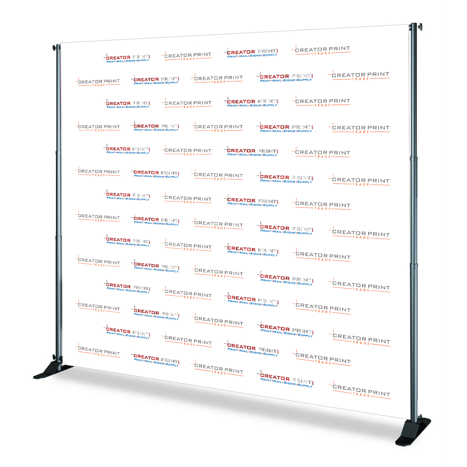 STEP AND REPEAT STAND AND BANNER PRINTING LOS ANGELES | Creator Print